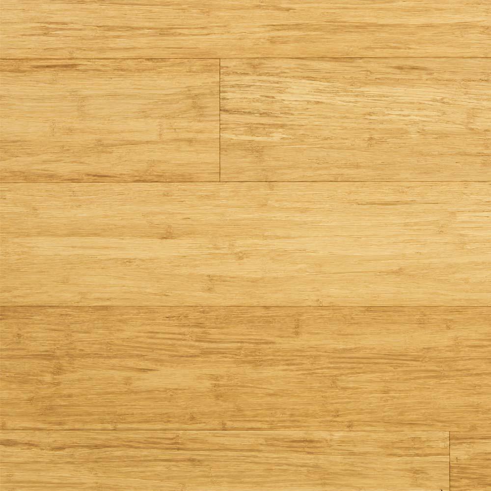 Solid brushed natural strand woven 135mm uniclic bona coate for Uniclic laminate flooring