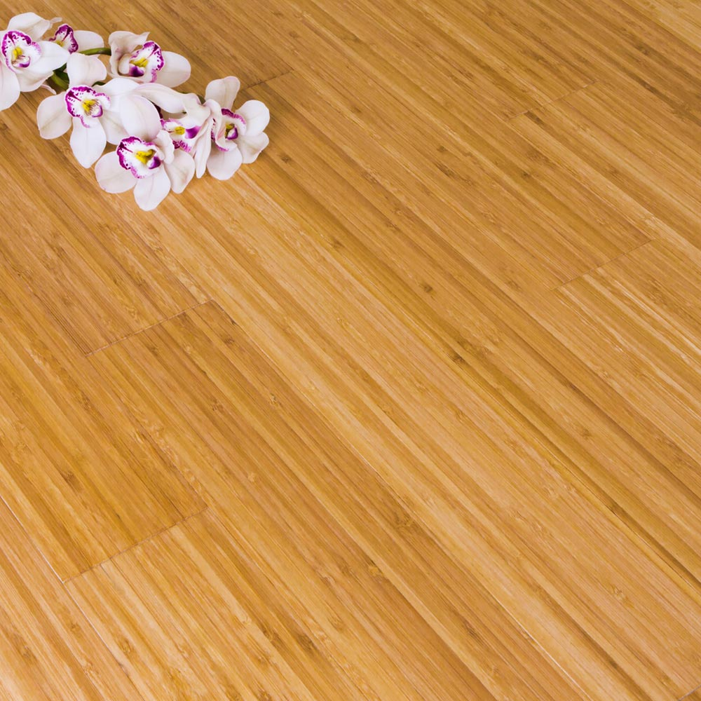 Solid Carbonised Vertical Bamboo Flooring 2 21m²