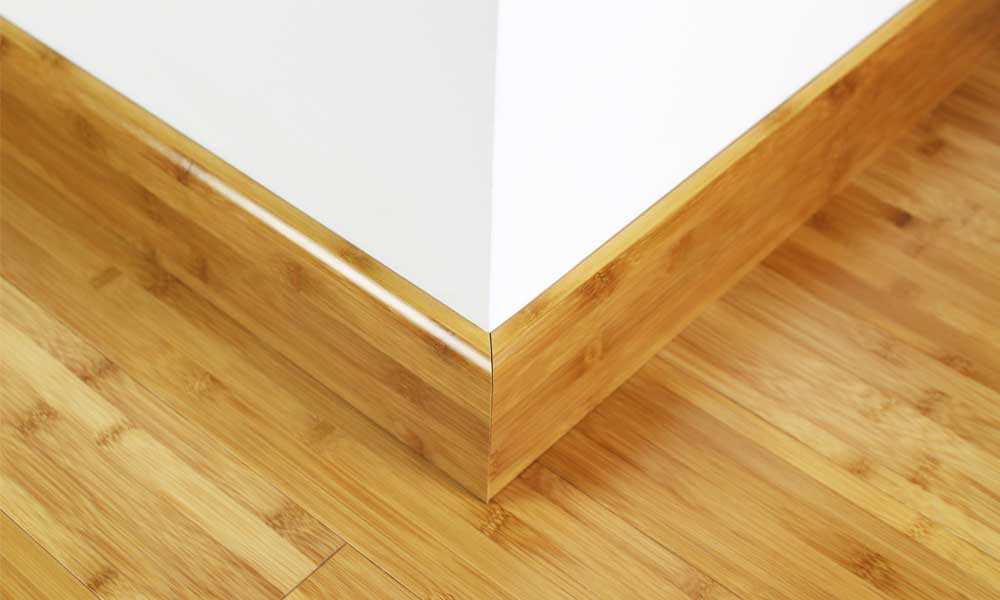 Carbonised Bamboo 92mm Skirting 1950mm 1