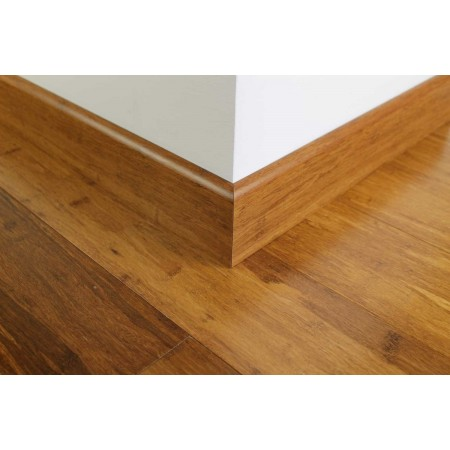 Carbonised Strand Woven Bamboo 92mm Skirting 1850mm