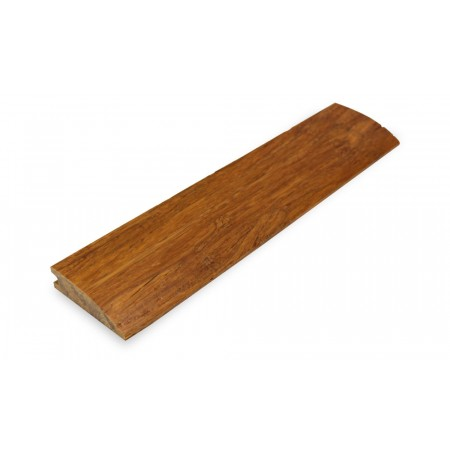 Brushed Carbonised Strand Woven Bamboo 14mm Door Bar / Flush Reducer 1850mm