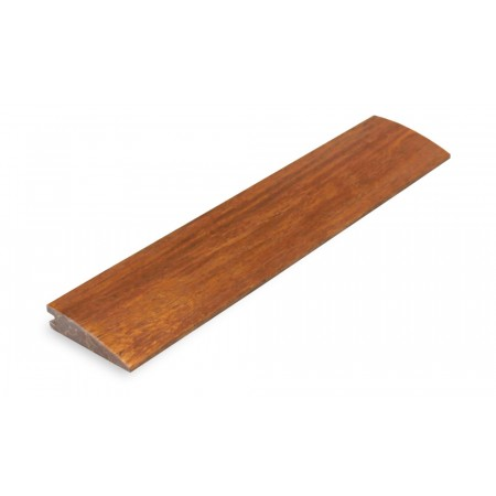 Carbonised Strand Woven Bamboo 10mm Door Bar / Flush Reducer 1830mm