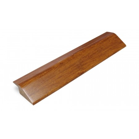 Brushed Carbonised Strand Woven Bamboo R Profile