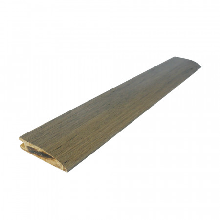 Antique Taupe Strand Woven Bamboo 10mm Door Bar / Flush Reducer