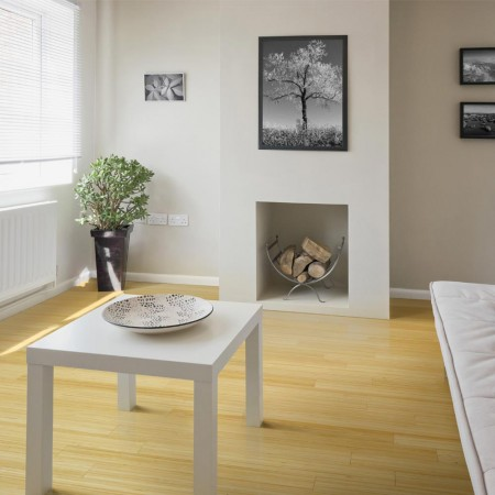 Solid Natural Vertical Bamboo Flooring 2.21m²