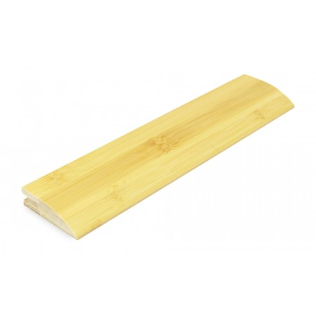 Natural Horizontal Bamboo 15mm Door Bar / Flush Reducer 1950mm
