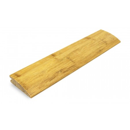 Natural Strand Woven Bamboo 12mm Door Bar / Flush Reducer 1850mm