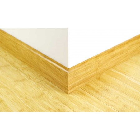 Natural Strand Woven Bamboo 92mm Skirting 1830mm