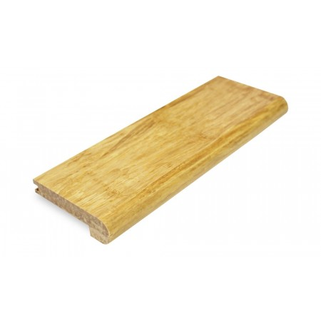 Natural Strand Woven Bamboo 12mm Stair Nosing 1850mm