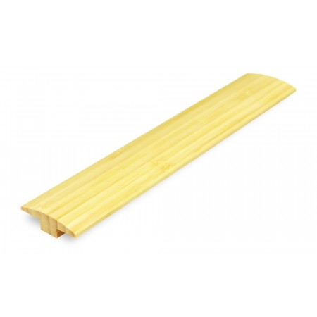 Natural Vertical Bamboo Door Bar / T Moulding