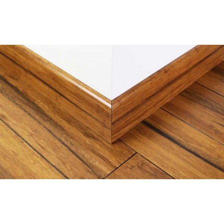Rustic Carbonised Strand Woven Bamboo 92mm Skirting 1850mm