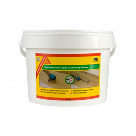 Sika Bond MS 14kg Flexible Wood Flooring Adhesive