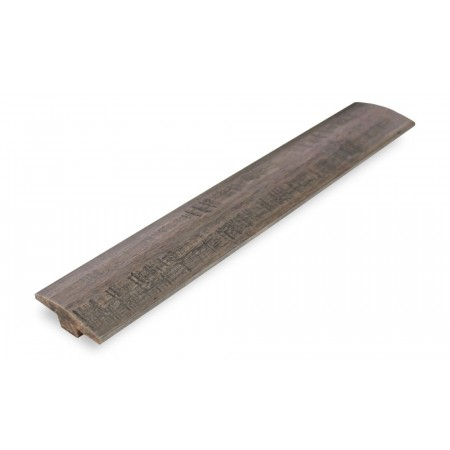 Stone Grey Strand Woven Bamboo Door Bar / T Moulding 1830mm