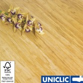 Engineered Natural Strand Woven 190mm Uniclic® BONA Coated Bamboo Flooring 2.81m2 per pack FSC1