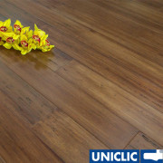 F1062 Solid Autumn Hazelnut Strand Woven Bamboo Flooring 125mm Click BONA Coating SAMPLE - First 6 samples are free.