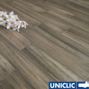 F1063 Solid Antique Taupe Strand Woven Bamboo Flooring 125mm Click BONA Coating SAMPLE - First 6 samples are free.