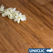 F1022 Engineered Carbonised Strand Woven 190mm Uniclic BONA Coated Bamboo Flooring SAMPLE - First 6 samples are free.