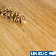Engineered Natural Strand Woven 190mm Uniclic BONA Coated Bamboo Flooring SAMPLE - First 6 samples are free.