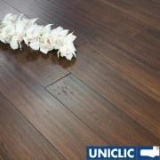 F1058 Solid Chestnut Strand Woven 125mm Uniclic BONA Coated Bamboo Flooring SAMPLE - First 6 samples are free.
