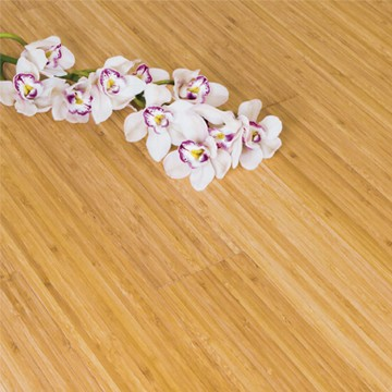 Solid Carbonised Vertical Bamboo Flooring Glue Down Only 2.21m²