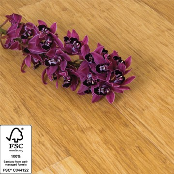 Solid Natural Strand Woven 142mm Bamboo Flooring 1.58m² per pack FSC1