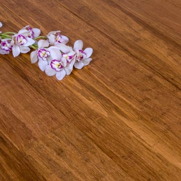Solid Carbonised Strand Woven 142mm Bamboo Flooring 1.58m²