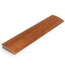 Carbonised Strand Woven Bamboo 10mm Door Bar / Flush Reducer 1850mm