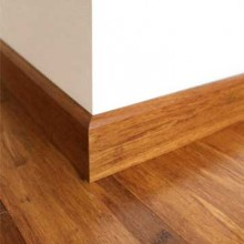 Brushed Carbonised Strand Woven Bamboo 92mm Skirting 1830mm