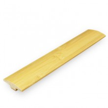 Natural Horizontal Bamboo T Moulding / Door Bar 2000mm