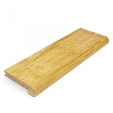 Natural Strand Woven Bamboo 14mm Stair Nosing 1850mm