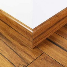 Rustic Carbonised Strand Woven Bamboo 92mm Skirting 1830mm