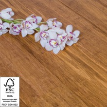 Solid Carbonised Strand Woven 142mm Bamboo Flooring 1.58m² per pack FSC1