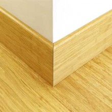Natural Strand Woven Bamboo 145mm Skirting 1850mm
