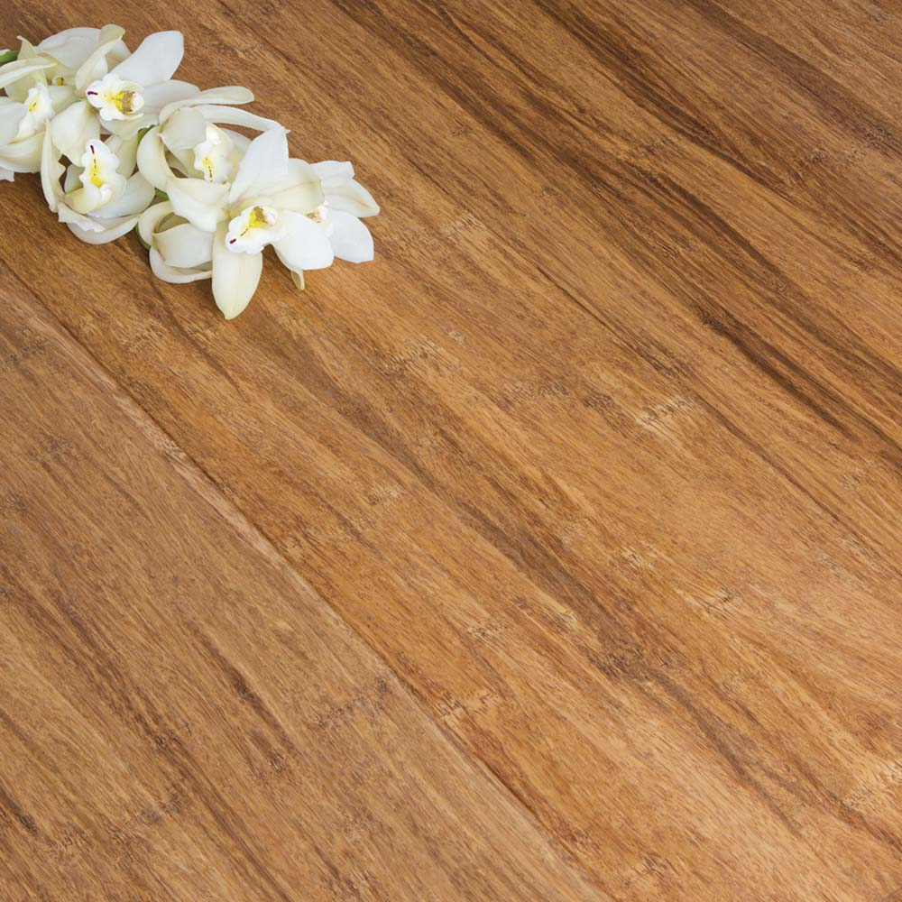 Engineered Strand Woven Bamboo Flooring: Engineered Carbonised Strand Woven 190mm Uniclic® BONA Coate