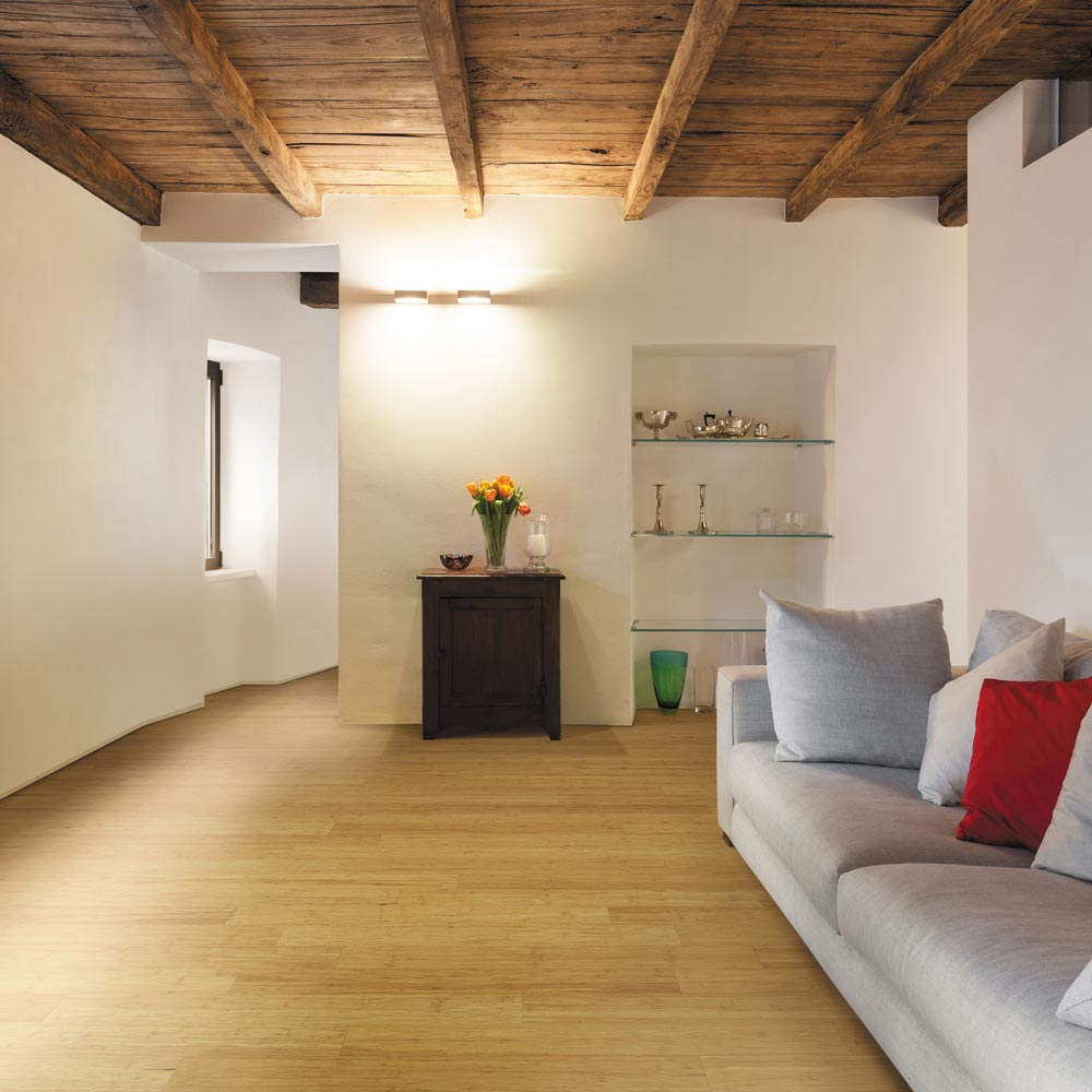 for bamboo woven the also floor of traditional basement can be size interiors home refinished full strand flooring decoration natural