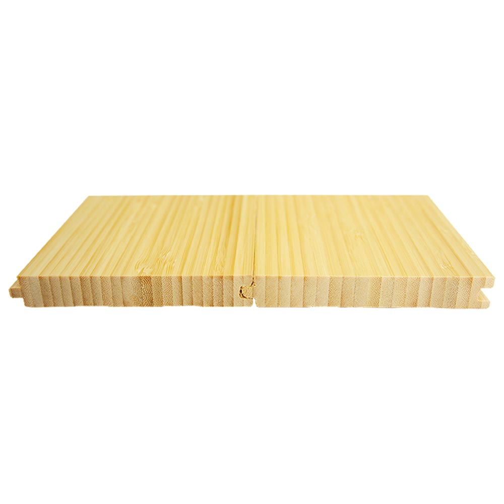 Solid natural vertical bamboo flooring for Solid bamboo flooring