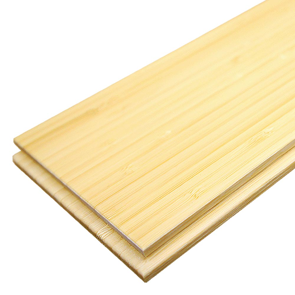 Solid Natural Vertical Bamboo Flooring Glue Down Only 2 21m 178