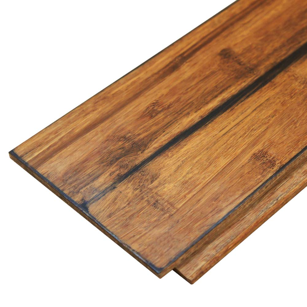 Carbonised solid strand woven bamboo flooring uniclic for Uniclic flooring
