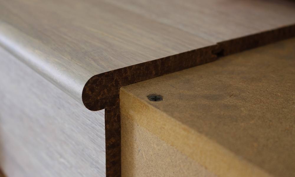 ... Pebble Strand Woven Bamboo 10mm Stair Nosing ...
