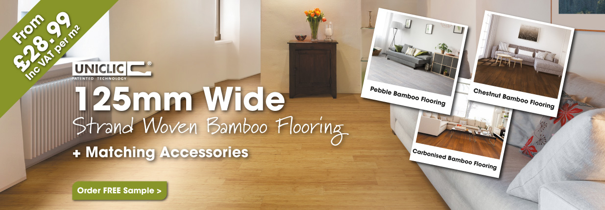 125mm Strand Woven Bamboo Flooring