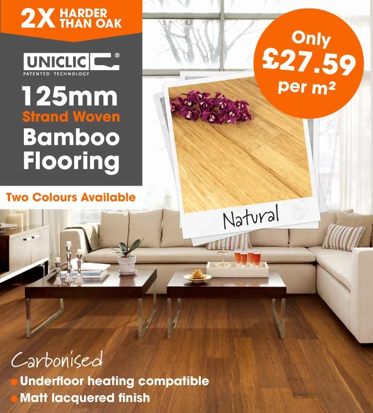strand woven bamboo 125mm wide
