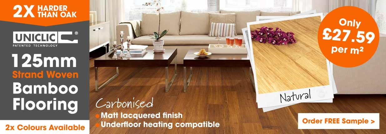 strand woven bamboo flooring 125mm wide