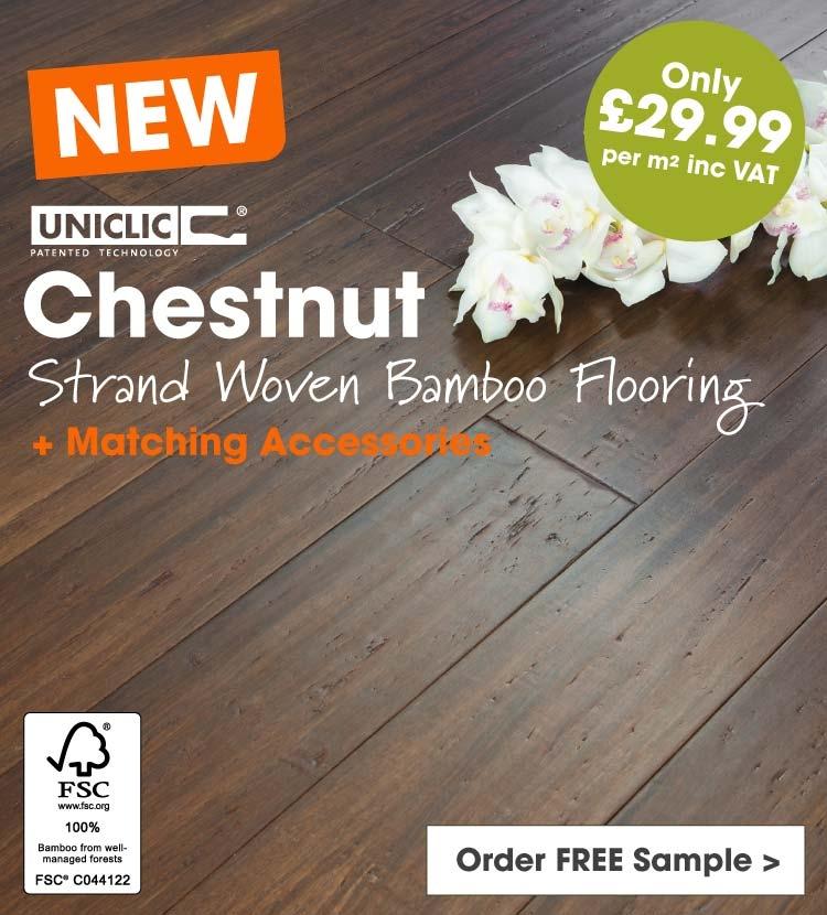 Solid Chestnut Bamboo Flooring