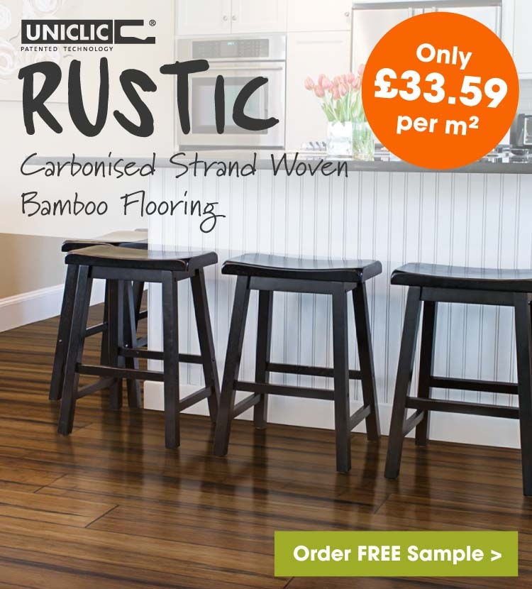 Rustic Carbonised bamboo