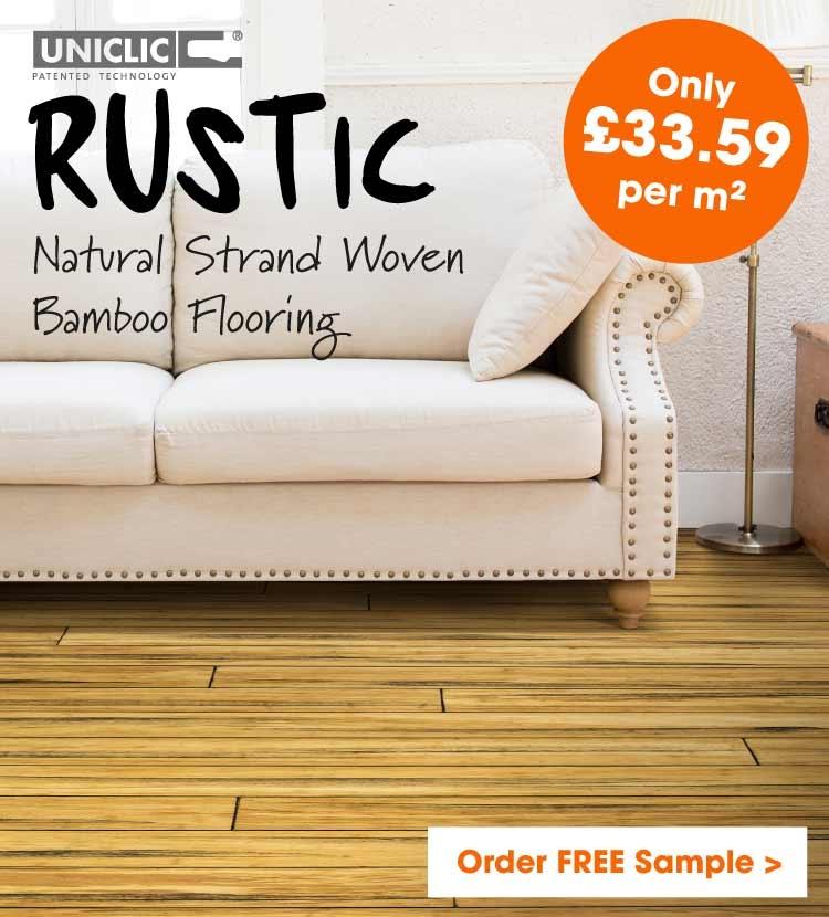 Rustic natural bamboo