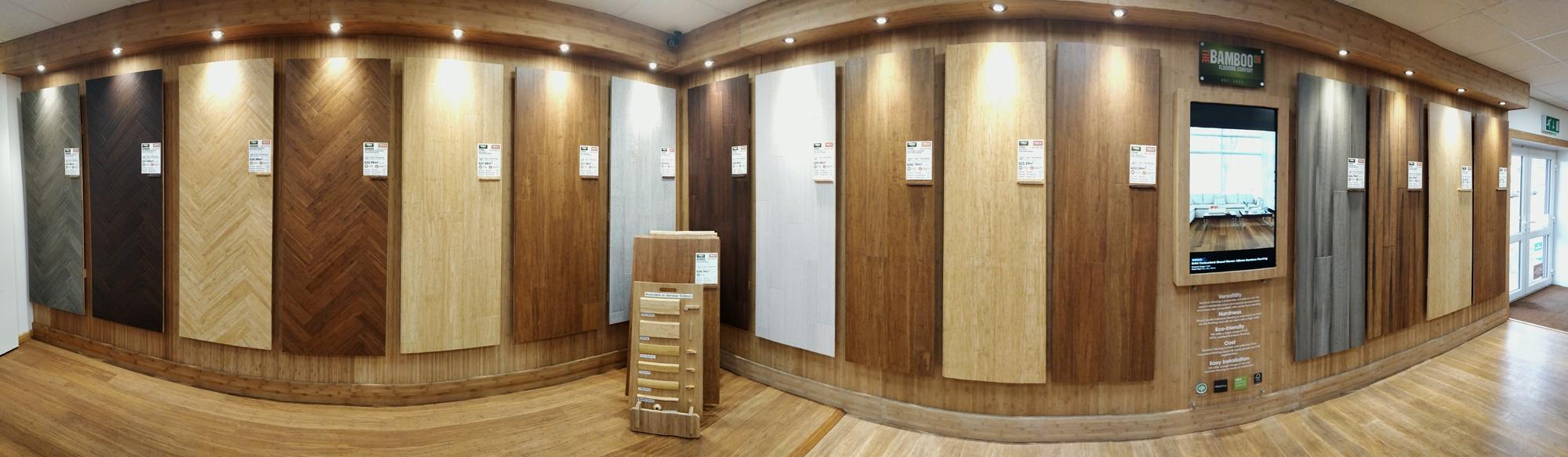 Bamboo Flooring Panoramic Photo
