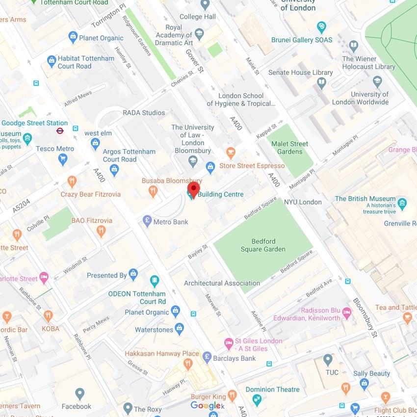 Build Centre Map