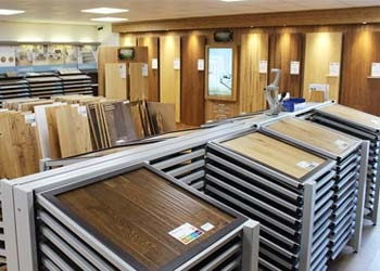 Our leicester flooring showroom for Showroom flooring ideas