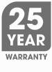 25 Year Warranty Symbol