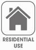 Residential use symbol